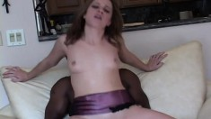 Insatiable babe Nadia Sin gets her lovely hole cracked by black fucker