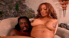 Ebony goddess with a perfect ass Ayana Angel loves them black and huge