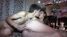 A Barely Legal Teen Couple Shoots Their First Home Made Porno