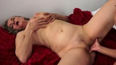 Delightful Teen Luna Fulfills The Naughty Mature Lady's Lesbian Needs