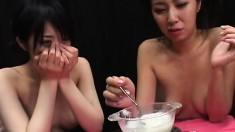 Pretty Japanese Teens Get Together And Share Their Desire For Semen