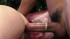 Enticing boys get rid of their clothes and enjoy some wild anal action