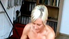 Mature Blonde POV
