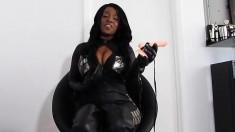 Horny Ebony Solo Action