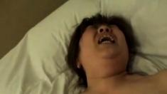 Homemade mature Asian wife banged hard