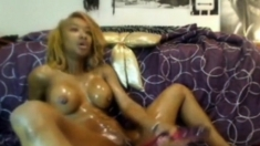 Ebony With Nice Body Squirting For The Camera