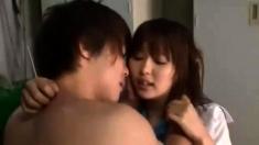 Fetching Japanese teen loves having hardcore sex