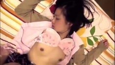 Asian Amateur Japanese teen lingerie