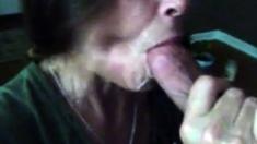 Swallowing Cum