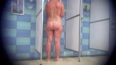 Redhead mature ass in webcam
