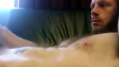 Cumpilation - Uncut Stud with Furry Ballsack