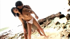 Brazilian Teen Anal At Beach Anal Beach