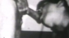 Vintage gay porn from way back with soldiers going at it with precision